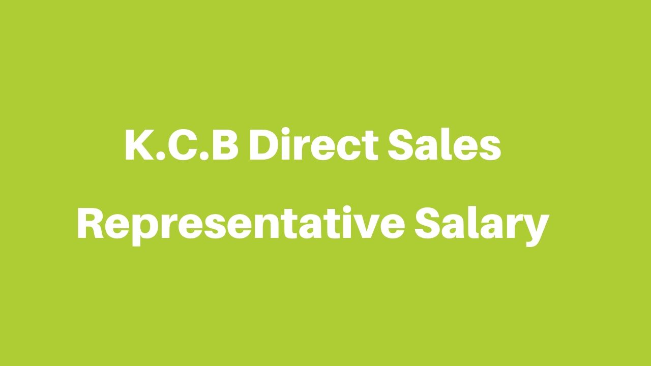 KCB Direct sales representative salary
